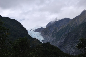 Pic. 7: Franz Josef Glacier on the West Coast of the South Island is retreating rapidly due to climate change.