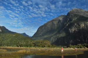Pic. 4: Milford Sound in the South Island.